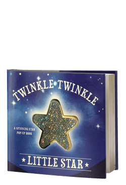 Twinkle Twinkle Little Star: A Spinning Star Book