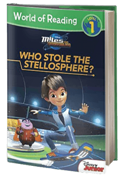 Miles From Tomorrowland Who Stole the Stellosphere?