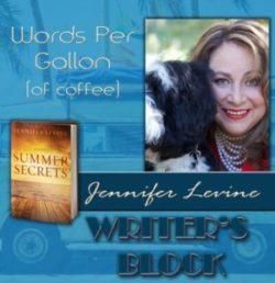 Words Per Gallon (of Coffee) by Jennifer Levine