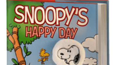 Snoopy's Happy Day: A Peanuts Puppet Book